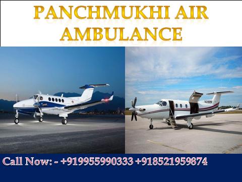 Panchmukhi Air and Train Ambulance is providing hitech
