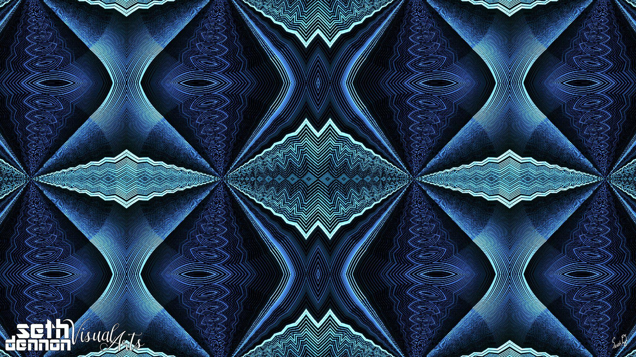 42217 kaleidoscopic humanoids fractal patterns fractal