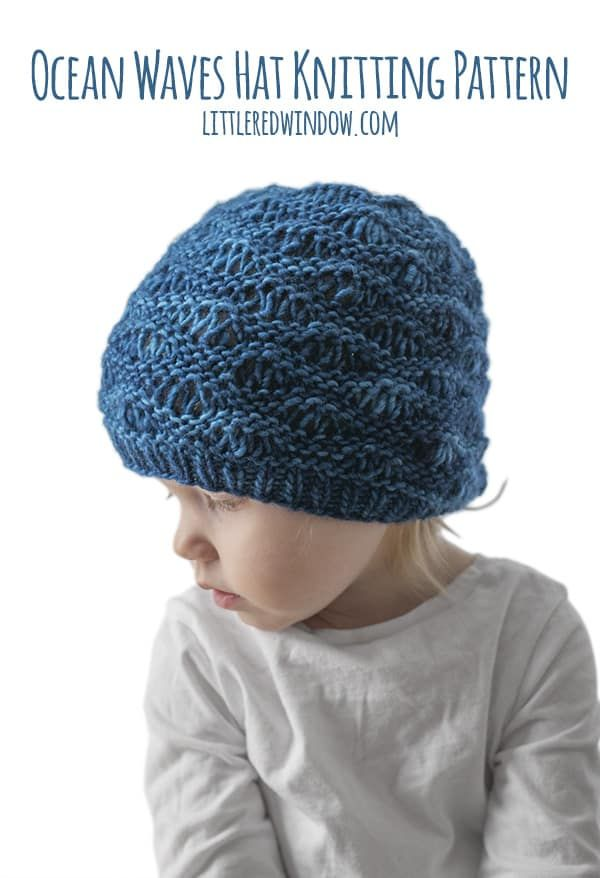 Ocean Waves Hat Knitting Pattern | Knitting Knitting Knitting PINS ...