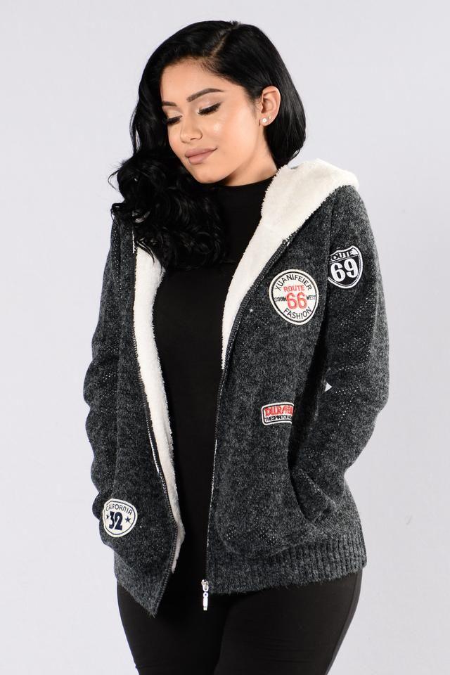 Warm Up Jacket - Charcoal