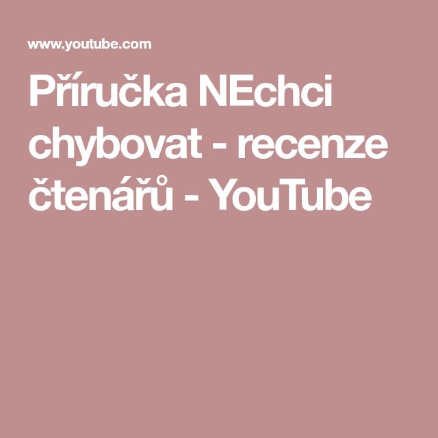 NECHCI CHYBOVAT DOWNLOAD