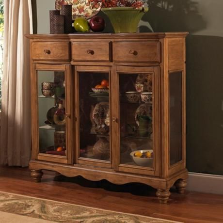 Hillsdale Hamptons Weathered Pine Server -