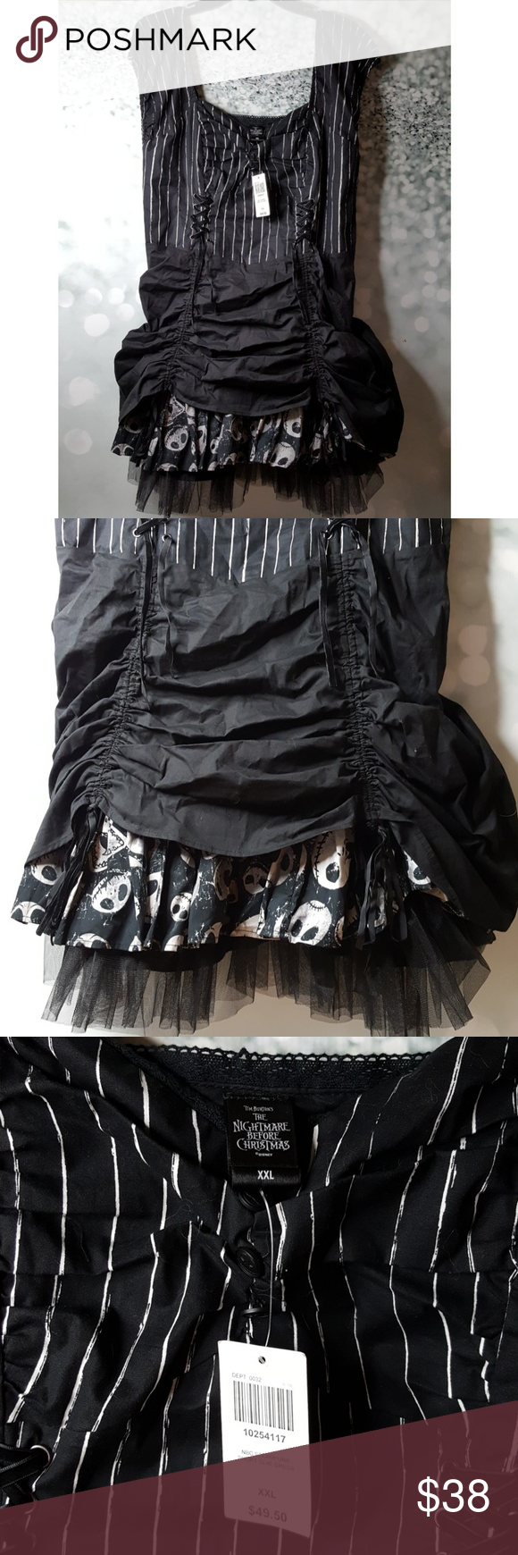 Nightmare before Christmas costume NWT | Costumes and Customer support