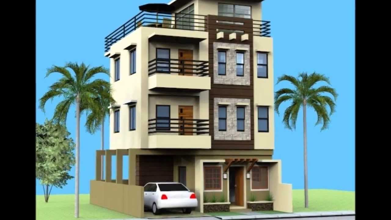 Small 3 Storey House With Roofdeck 3 Storey House Design 3 Storey House Affordable House Design