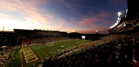 The University Of Wyoming Football Stadium A Great Place To