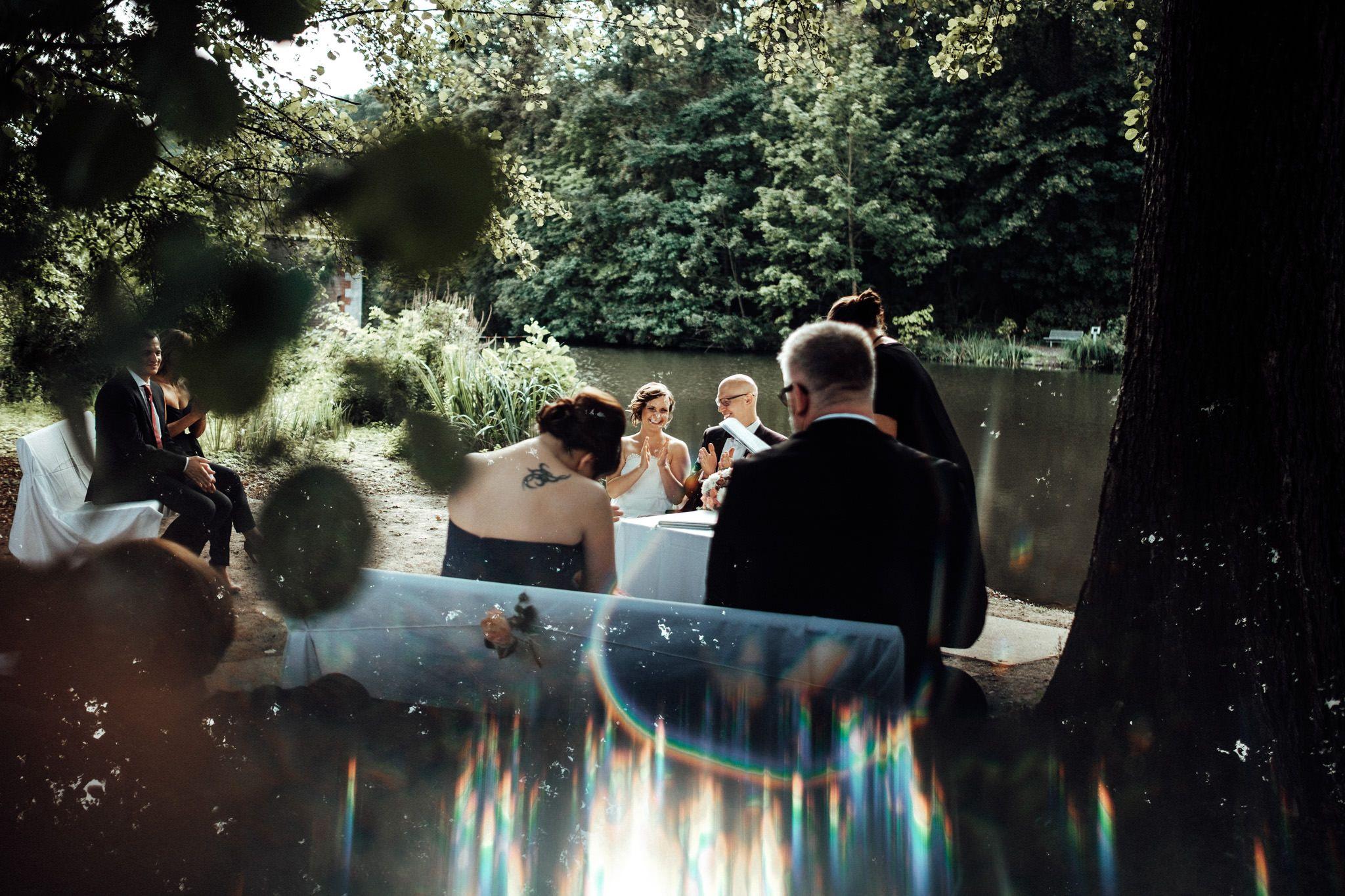 Freie Trauung Am Bruckenkopf Park In Julich Und Feier An Der Blumenhalle Nebenan Top Hochzeitslocation In Nrw