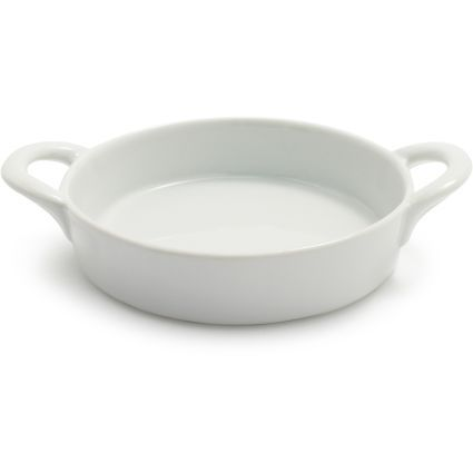 http://www.surlatable.com/product/PRO-1056357/Sur La Table Round Creme Brulee Dish