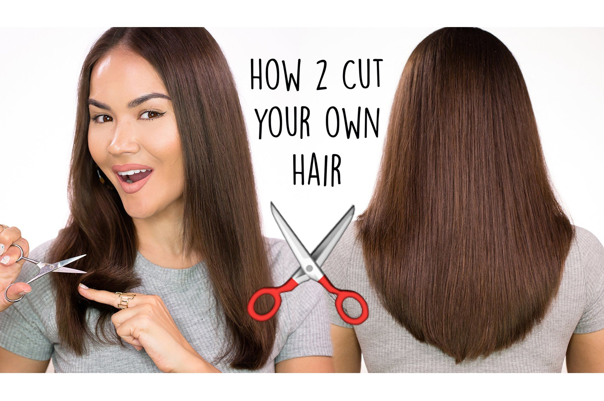 How To Cut Your Own Hair | Maryam Maquillage | Hair and make up ...