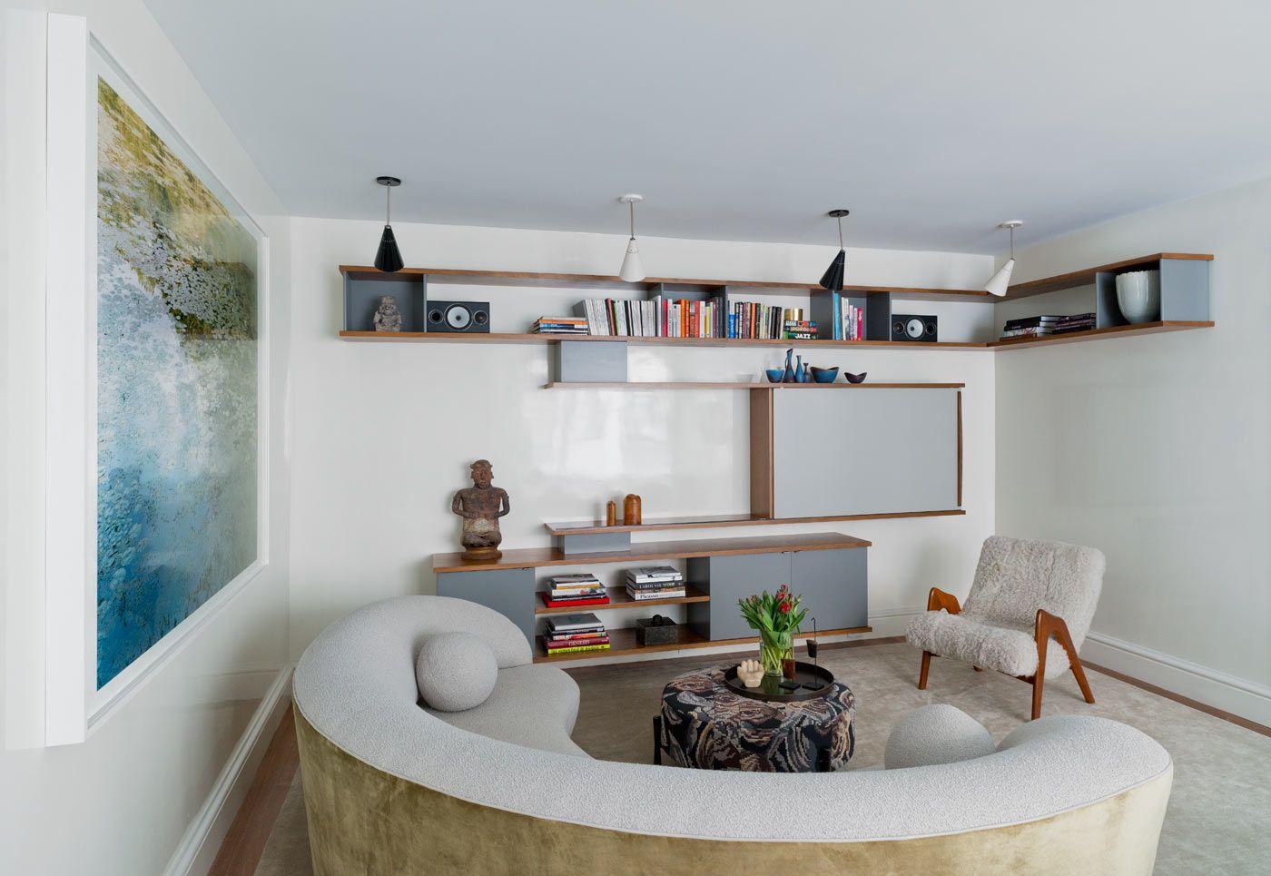 Tori Golub Interior Design Interior Design Living Room White Living Room Grey Family Rooms #small #white #living #room