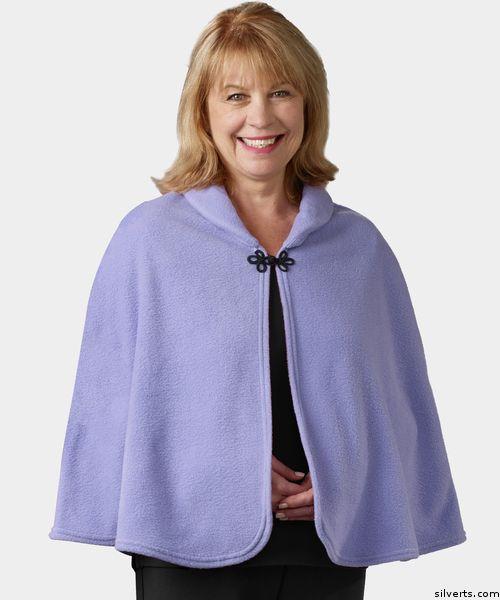 Ladies Bed Jacket : ladies, jacket, Womens, Jacket, Fleece, Shawl, Capes, Women,, Nightgowns, Adaptive, Clothing