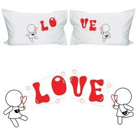 """TwosomeGifts """"My Love is Yours"""" Lesbian Couple Pillowcases-Lesbian ..."""