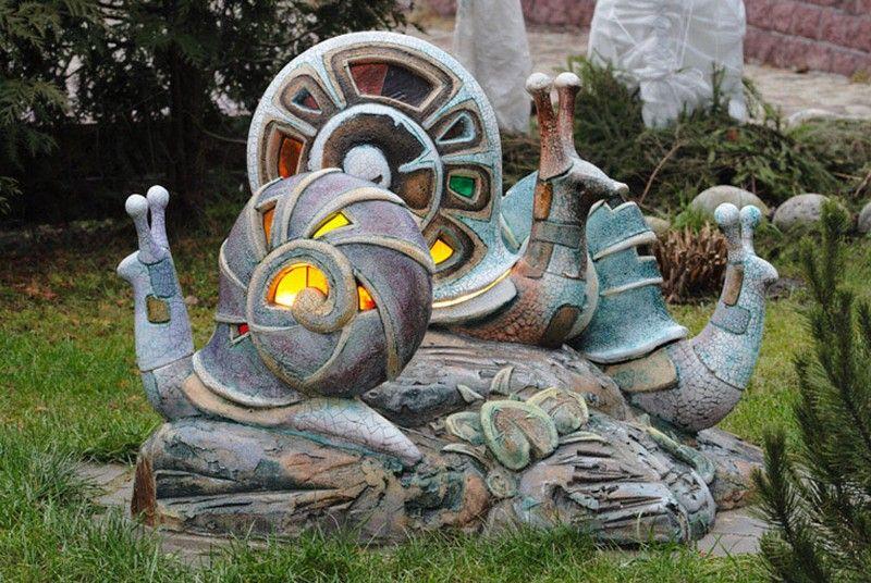 Скульптуры у дома своими руками фото 524