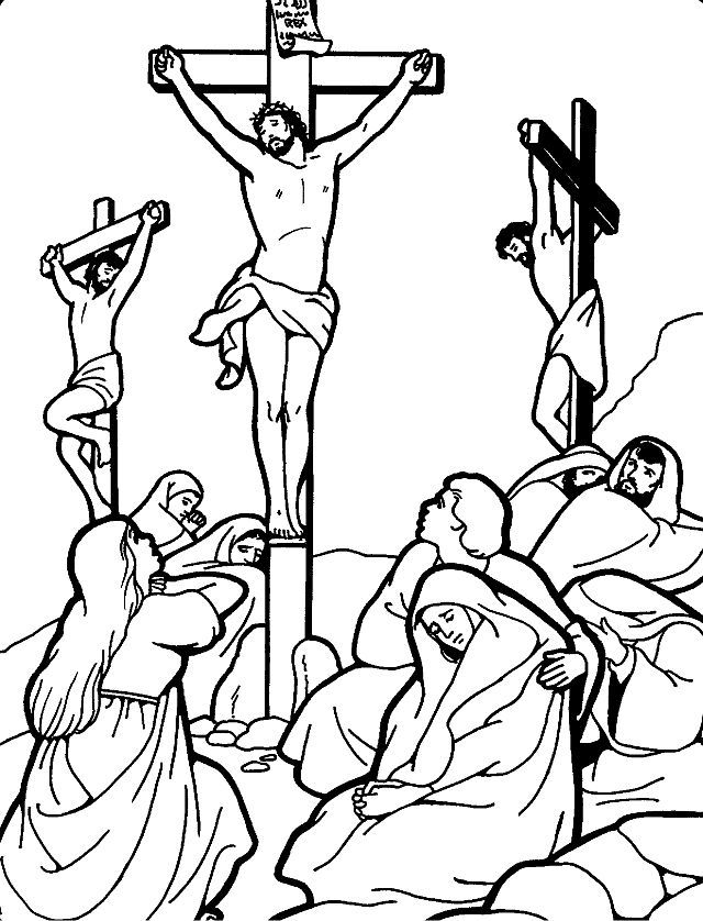 good friday free coloring pages - Coloring Sheets For Toddlers