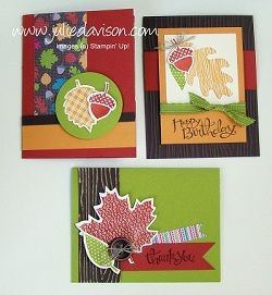 Julie's Stamping Spot -- Stampin' Up! Project Ideas Posted Daily: Ornament Keepsakes Founder's Circle Swap Card