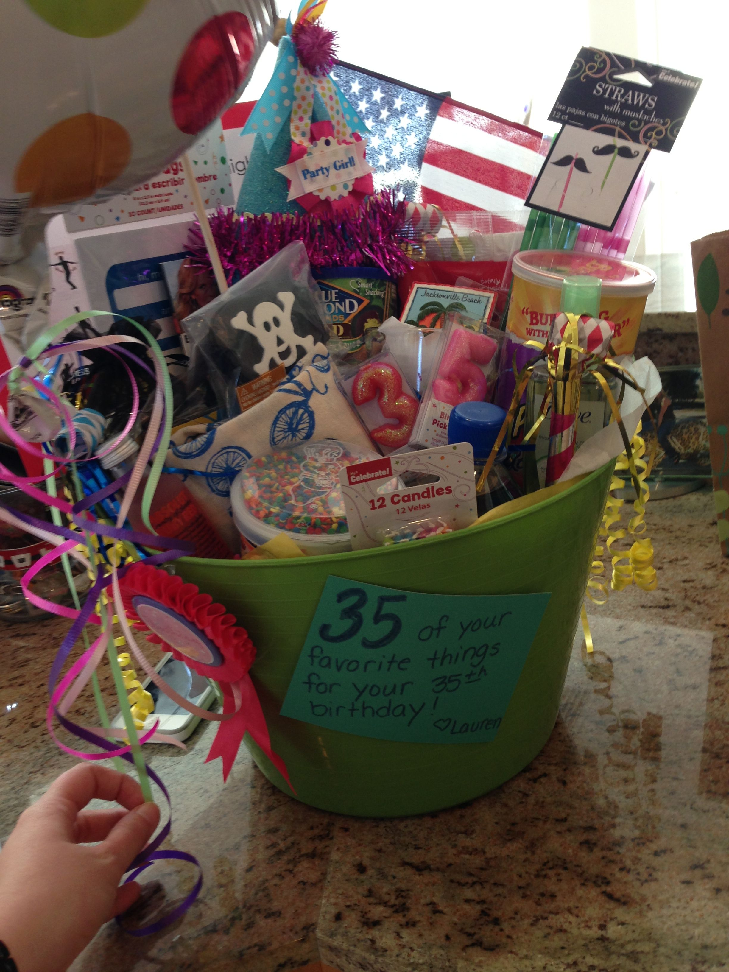 35 of their favorite things for their 35th birthday 35th
