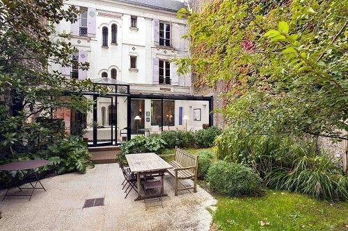 Maison de caractère au coeur du village d\'Auteuil, Paris 16ème ...