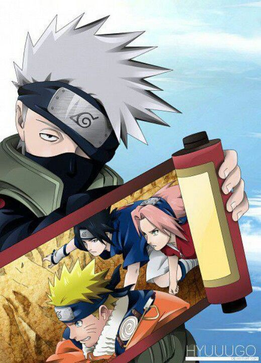 I Love Kakashi He S One Of My Favorite Naruto Characters A