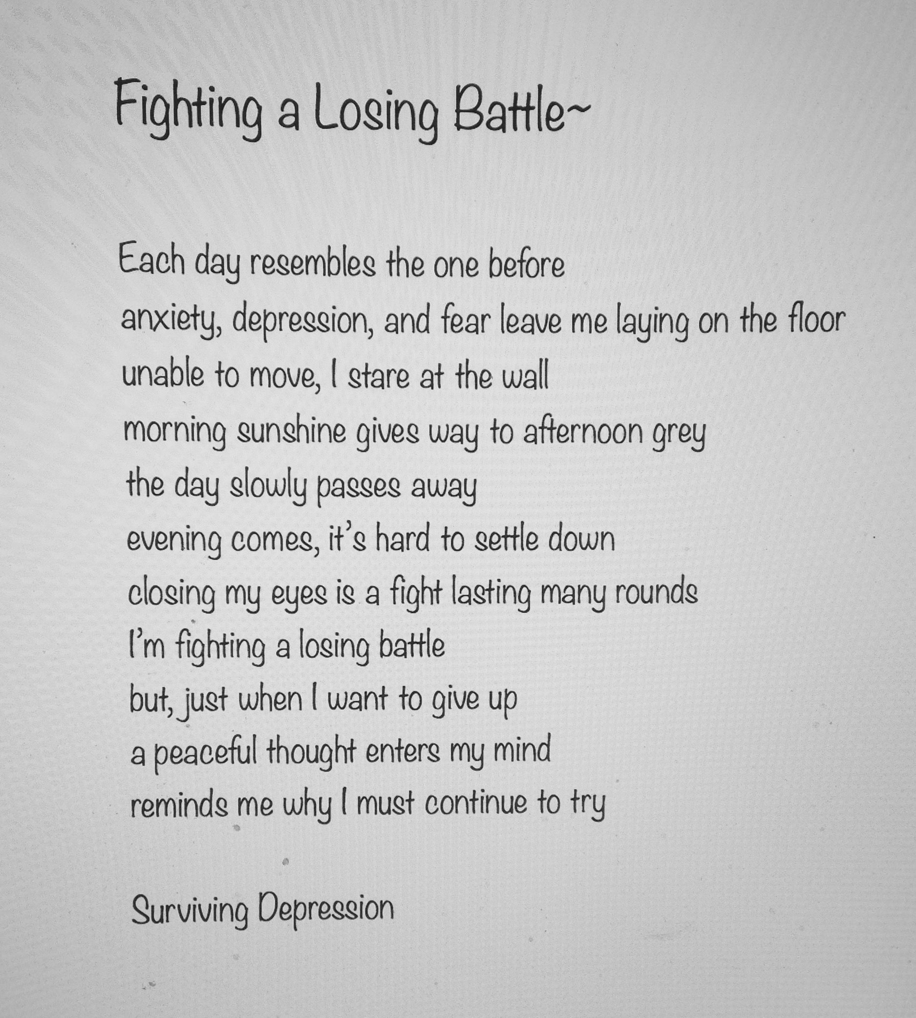 Fresh Fighting A Losing Battle Quotes Soaknowledge