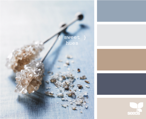 Seeds has some great inspiration color palettes to figure out what color schemes you can put together in a room and what color of décor would look good with it.