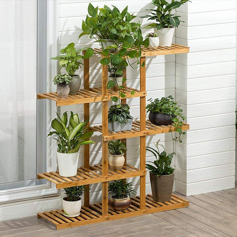 Home Plant Decor Wooden Plant Stands House Plants Decor