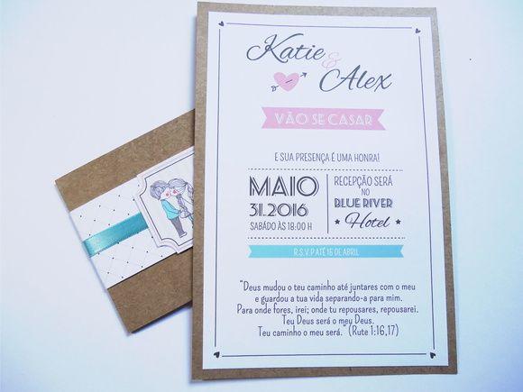 Convite Casamento INLove