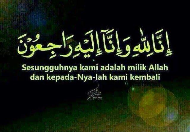 Katakan Apa Saja Takziah Mh370 Islamic Quotes Kata Kata Indah Kata Kata Motivasi