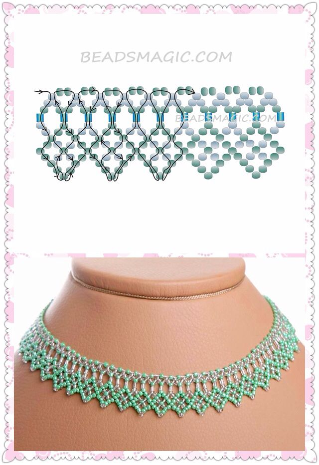 Collar | Mostacillas | Pinterest