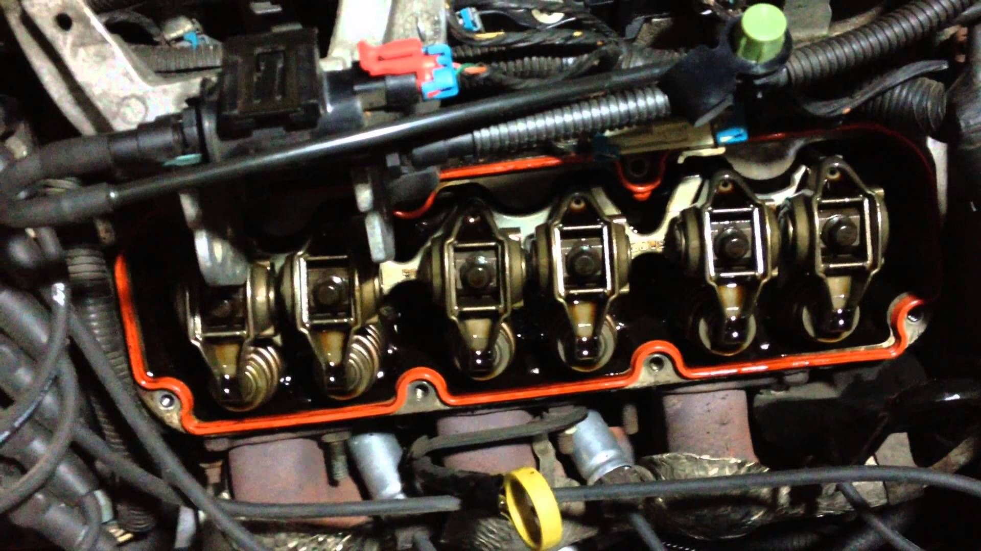 Gm 3800 Series Ii Valve Cover Gasket Replacement With Minimal Removal Valve Cover Impala Youtube