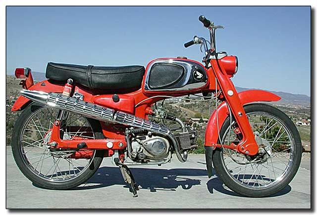 The Honda Ca110 Sport 50 Was A 50cc 4 Stroke Street Motorcycle Manufactured By Honda From 1962 Through 1969 The First Versio Motorcycle Honda Retro Motorcycle