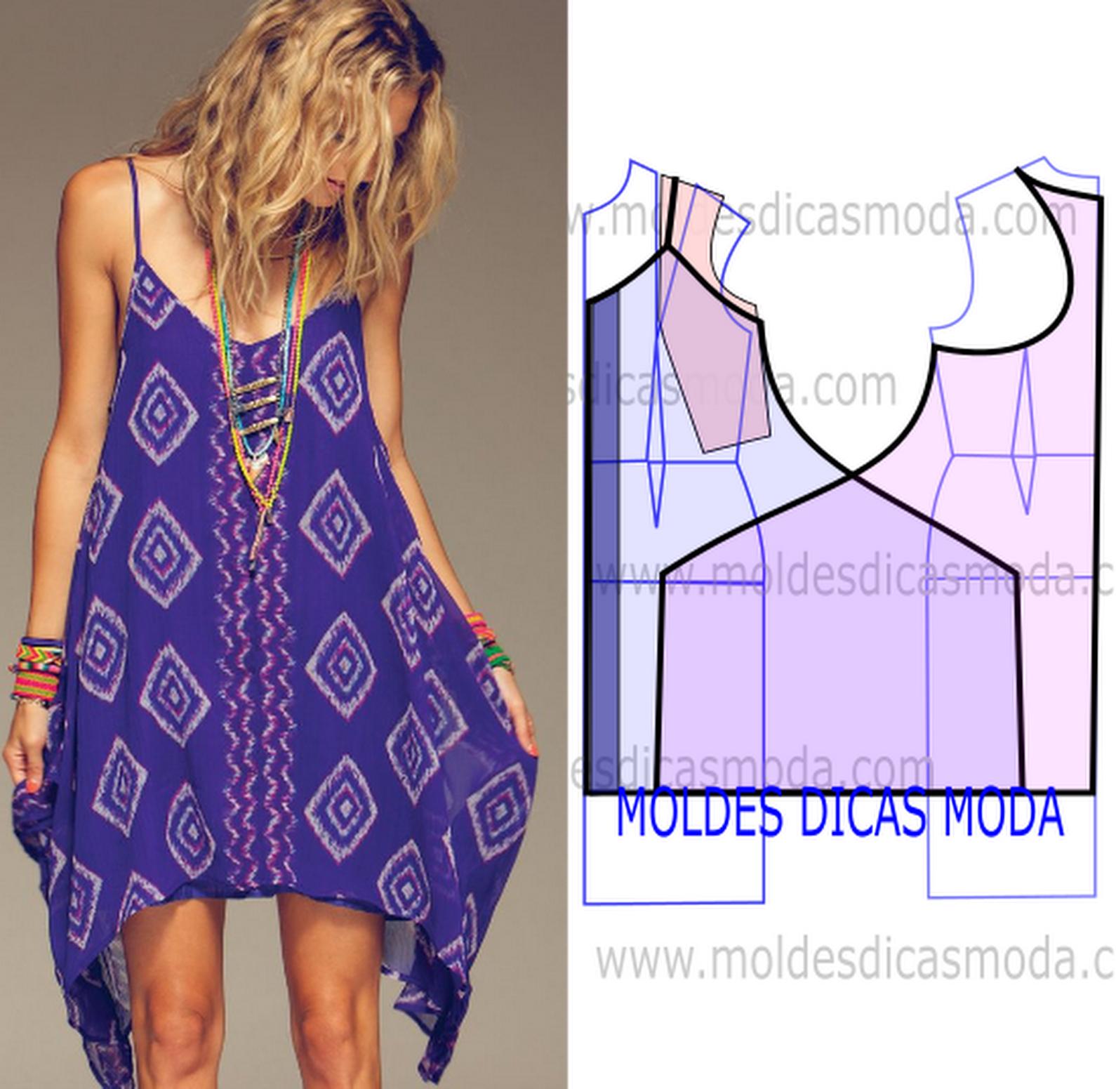 Vestido de praia 271 moldes moda por medida tutorial cucito pinterest e - Bagno 37 silvana bellaria ...