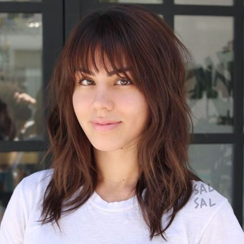 Haircuts With Bangs New Trends 2021 2022 Is Beauty Tips Medium Length Hair Styles Wispy Bangs Hairstyle