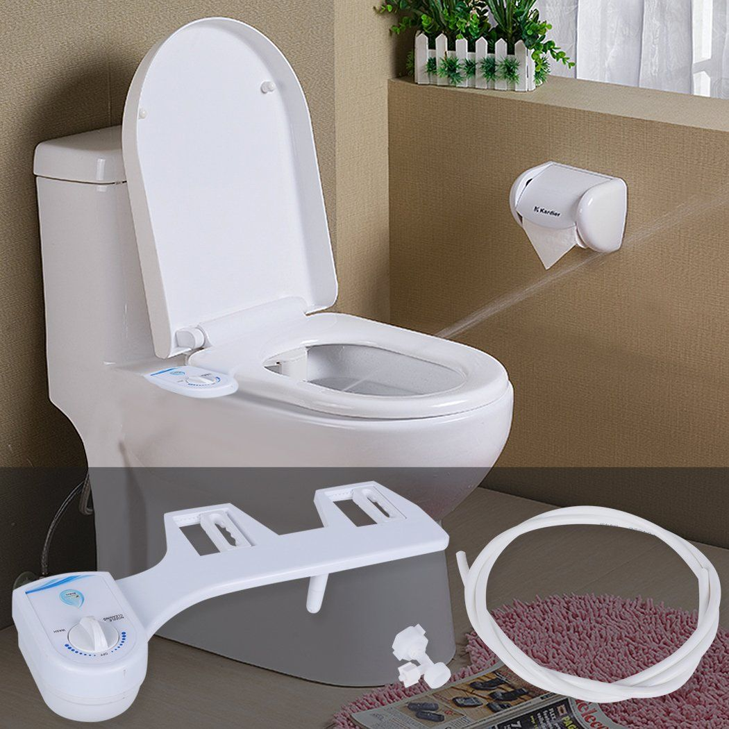 Homdox Toilet Seat Bidet Non-Electric Toilet Attachment Bidet Seat ...