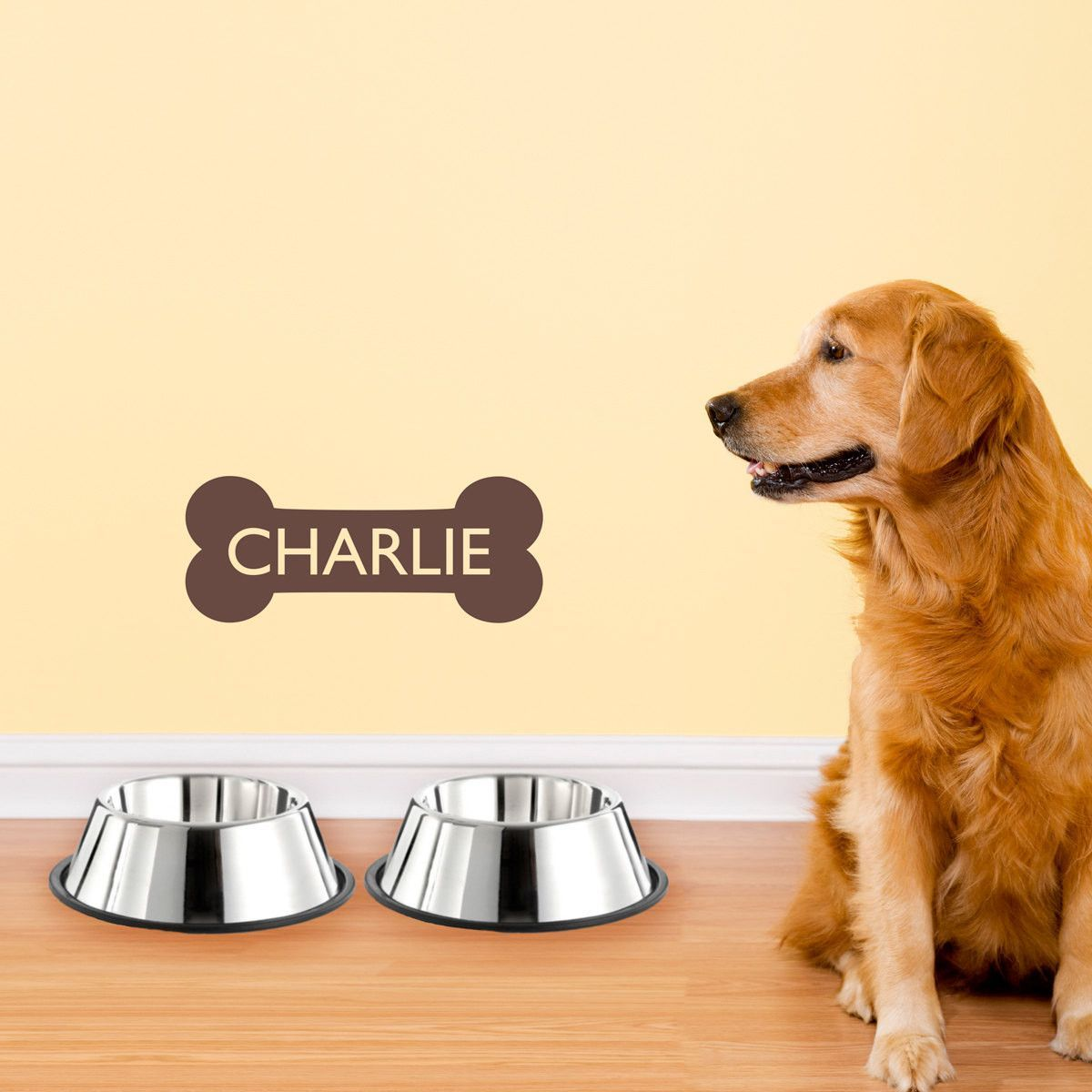 Personalized Dog Name - Dog Bone Wall Decal | Products | Pinterest ...