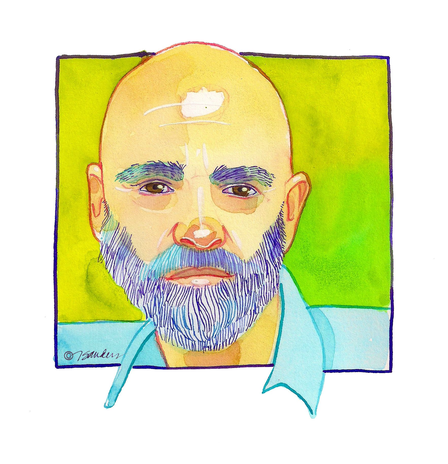 "Fine Art Daily - October 18  Today is writer and illustrator Shel Silverstein's birthday.  ""Draw a crazy picture,  Write a nutty poem, Sing a mumble-gumble song, Whistle through your comb.  Do a loony-goony dance  'Cross the kitchen floor,  Put something silly in the world  That ain't been there before.""  ― Shel Silverstein  http://www.shelsilverstein.com/"