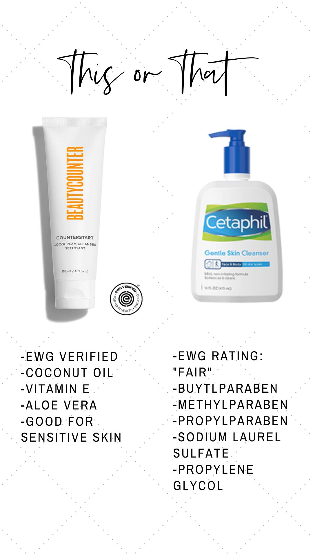 This Or That Beautycounter Counterstart Cream Cleanser Gentle Skin Cleanser Skin Cleanser Products Beautycounter