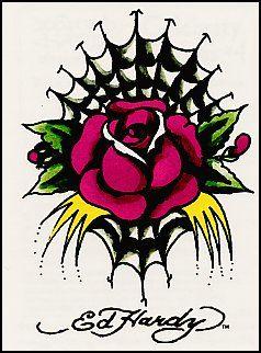 Temporary Tattoos and Fake Tattoos Ed Hardy Tattoos | Ed Hardy | Ed ...