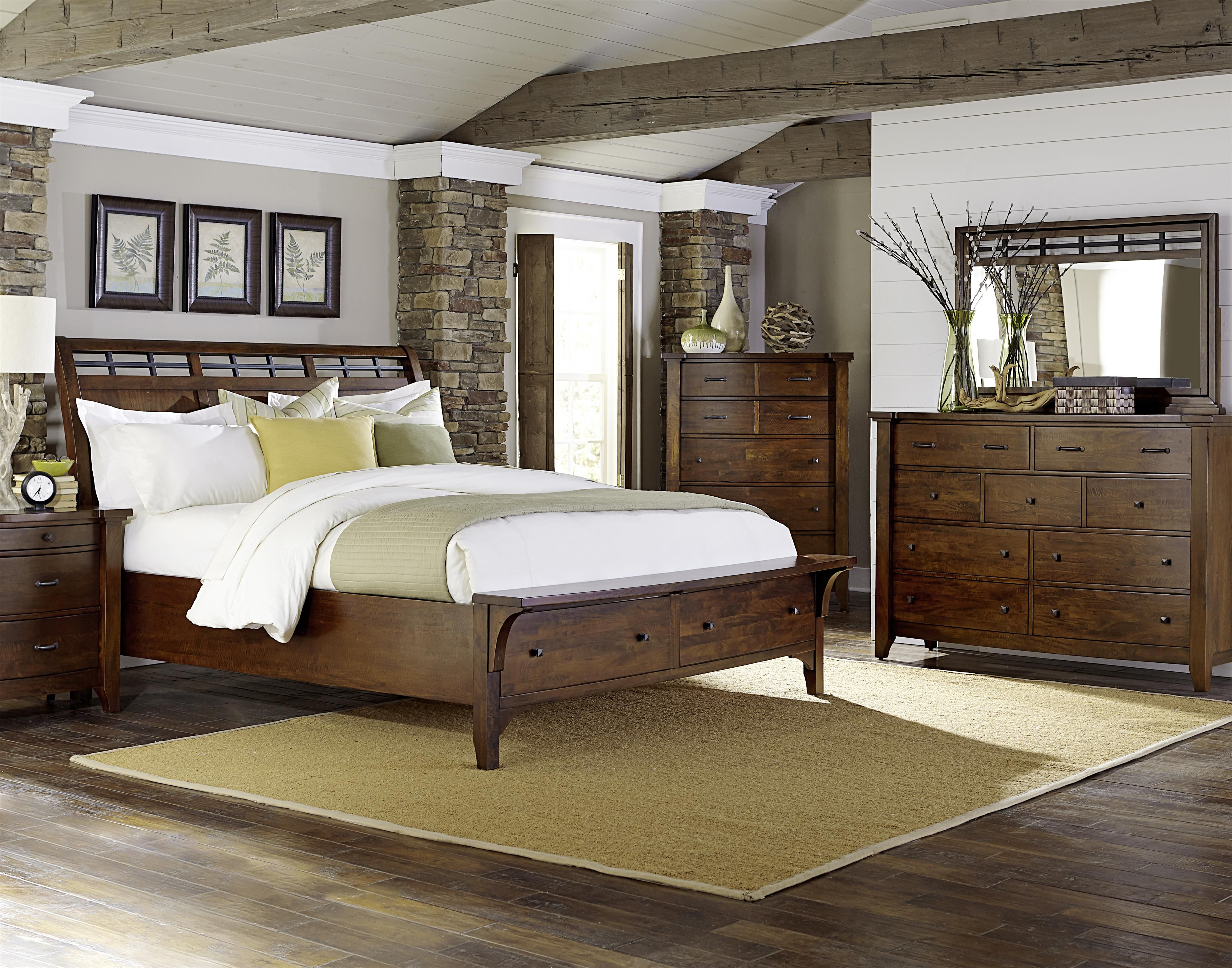 Whistler Retreat Queen Bedroom Group by Warehouse M