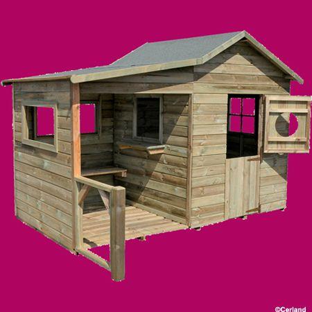 pour acheter votre forest style cabane enfant hacienda en bois pas cher et au meilleur prix rueducommerce cest le spcialiste du forest style cabane - Cabane De Jardin En Bois Pour Enfant