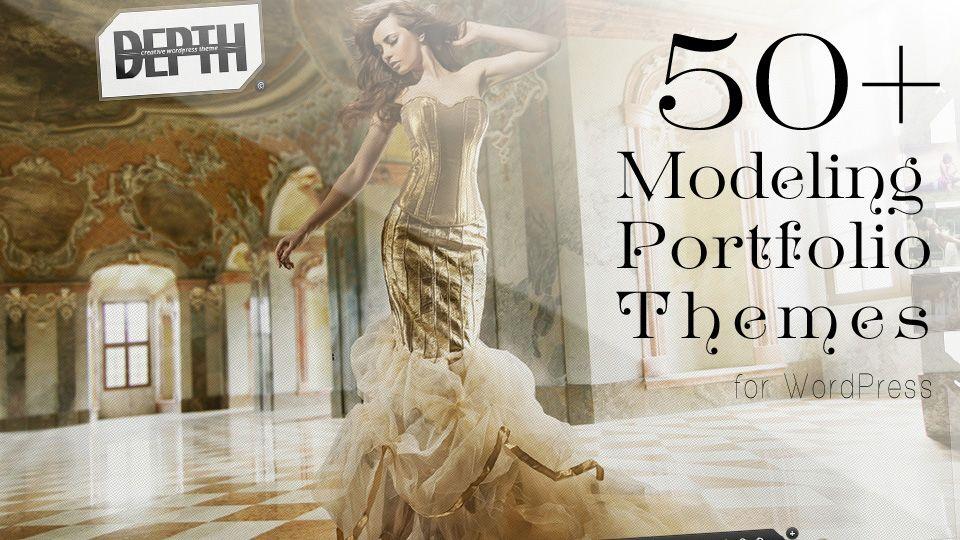 Top 50 WordPress Themes for Models Portfolio Websites   success ...
