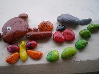 rocks puzzle - My 2yo daughter would love this.