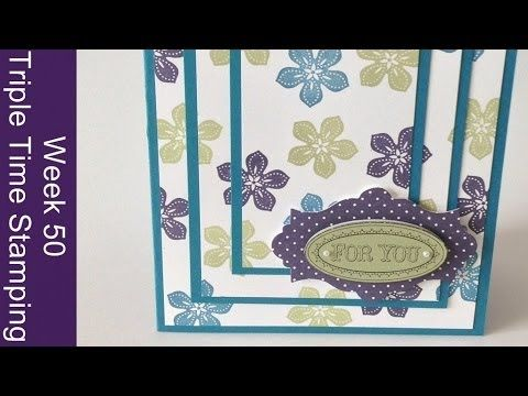 Week 50, Triple Time Stamping - YouTube
