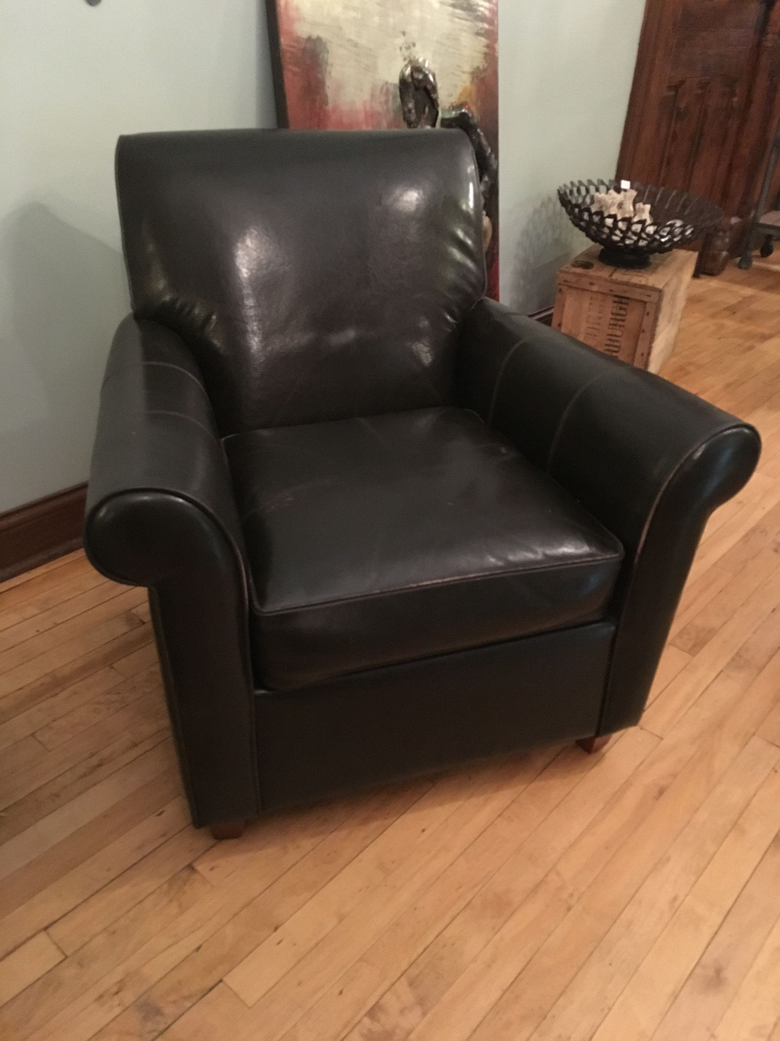 Bauhaus Leather Club Chair Consignment Piece & Bauhaus Leather Club Chair Consignment Piece | Products | Pinterest ...