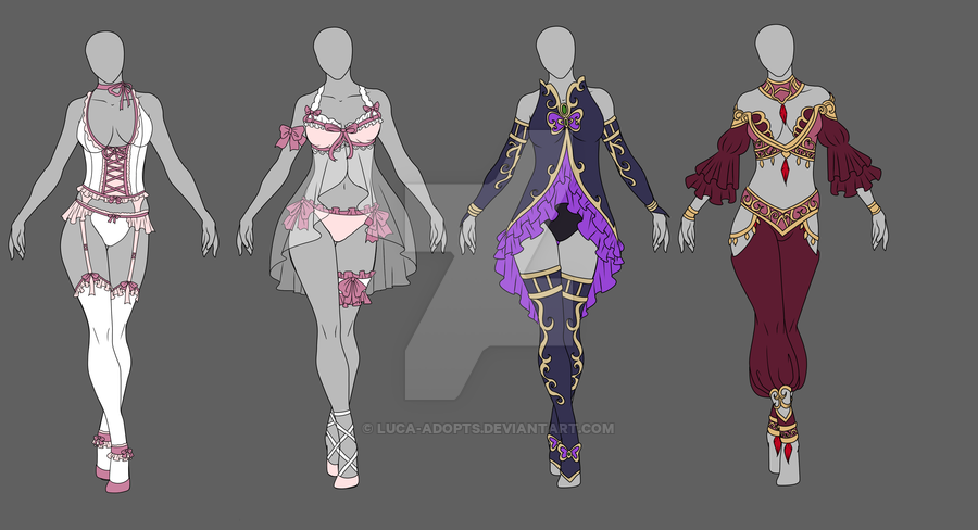 Adopt Clearance - Auction OPEN by Luca-Adopts