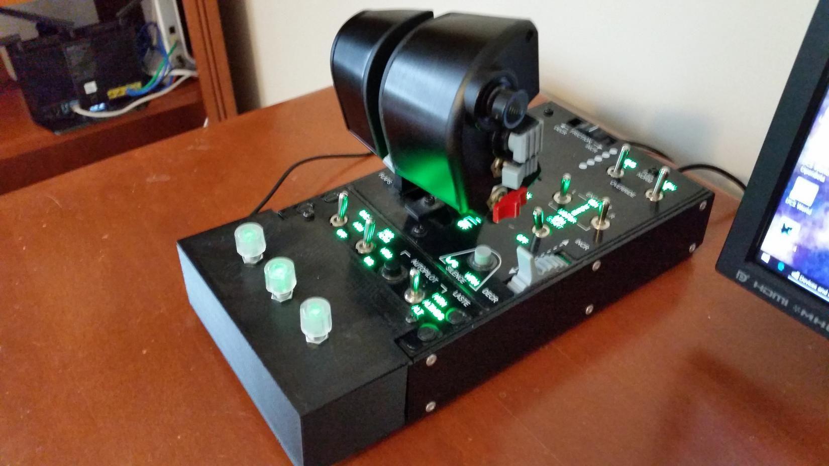 mmjoymmjoy2 build your own Flight simulator, Electronics