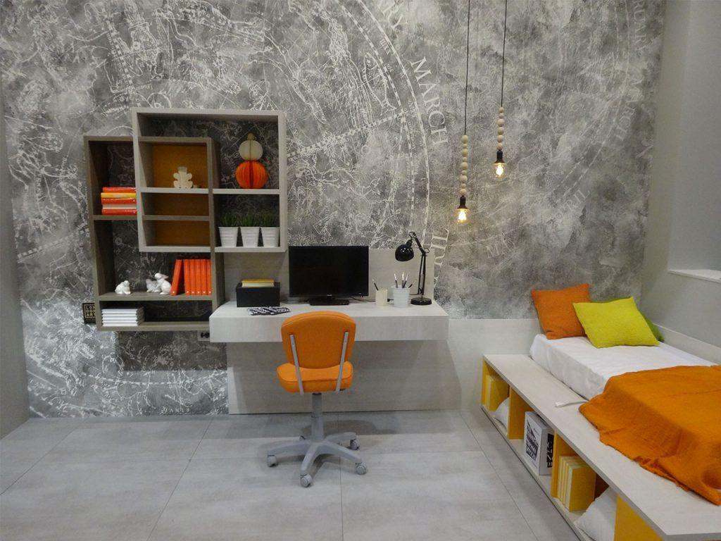 tonos naranja en tendencias interiorismo