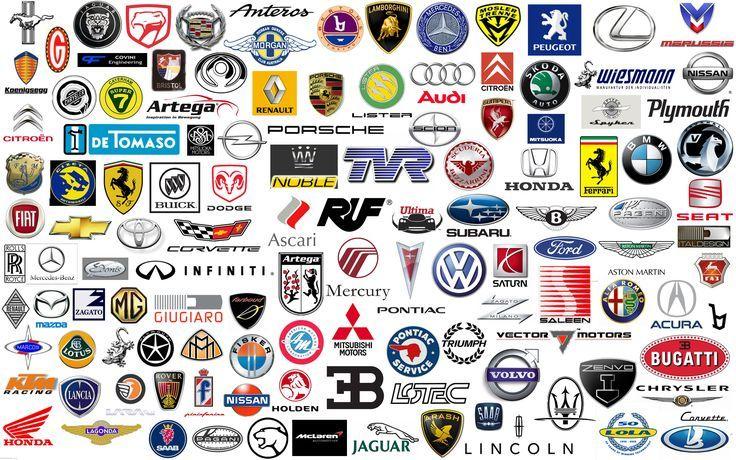 Car logos design typography fontspiration American
