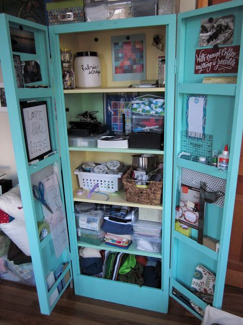 How to Paint a Metal Cabinet | Metal storage cabinets ...