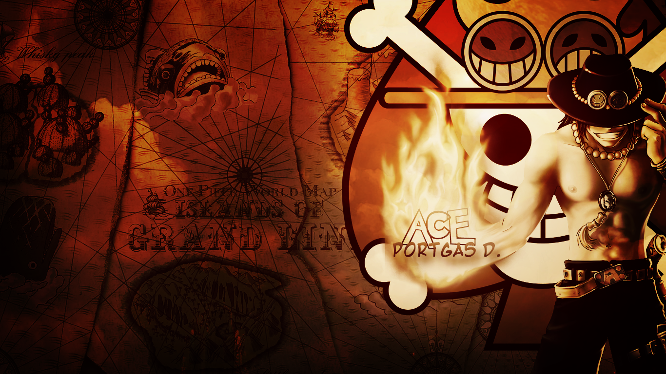 one piece portgas d ace hd wallpaper | one piece update