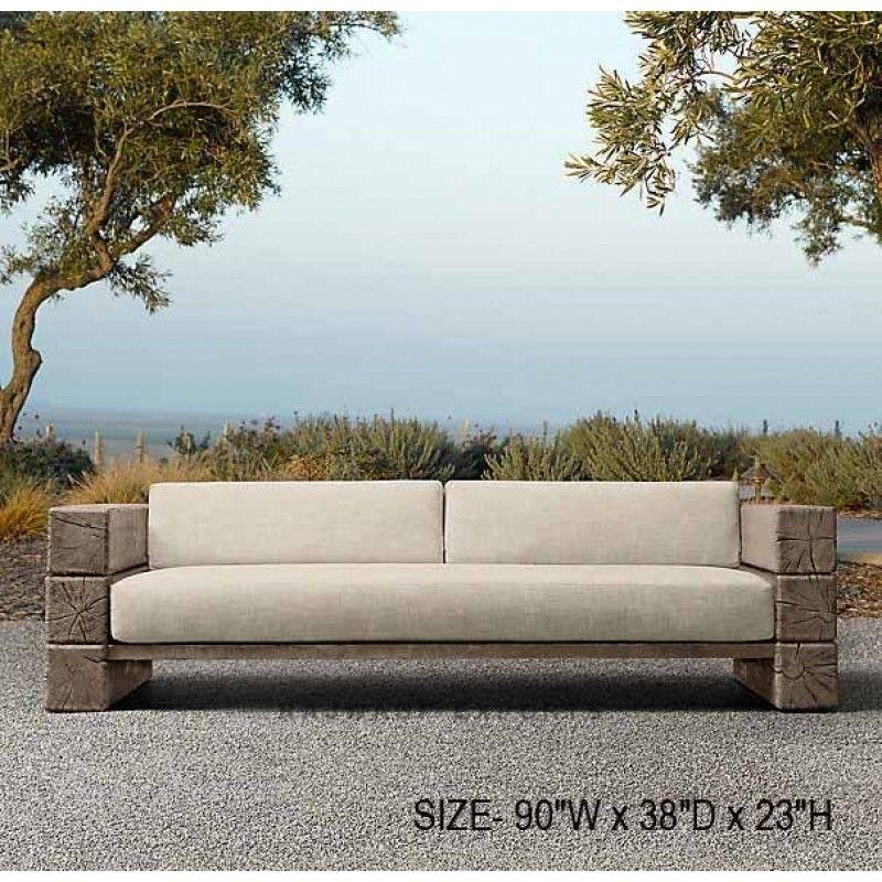 Big Unique Reclaimed Rustic Burn Wood Sofa Set Www Rajwadiexports