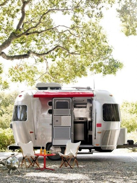 Talk About Downsizing And Going Green Tiny Airstream Living